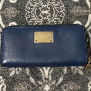 Michael Kors dark blue Wallet